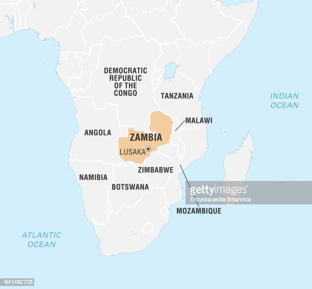Map Zambia.38 Zambia Map Pictures Photos Images Getty Images