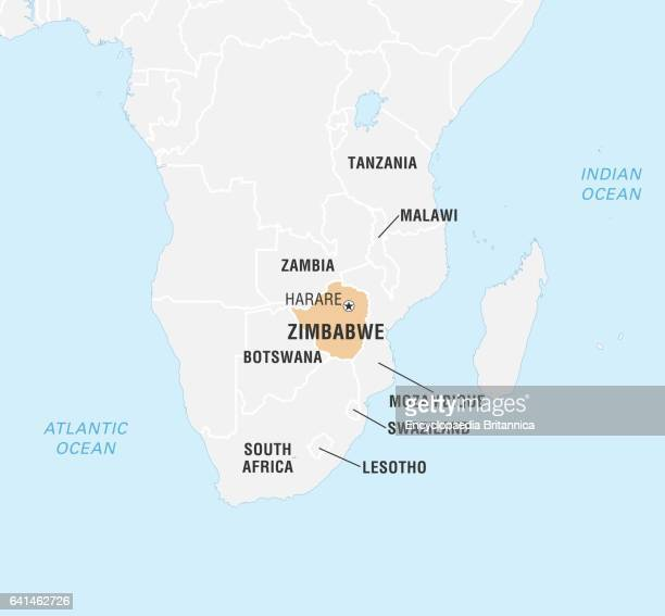 Zimbabwe map stock photos and pictures getty images world data locator map zimbabwe gumiabroncs Choice Image