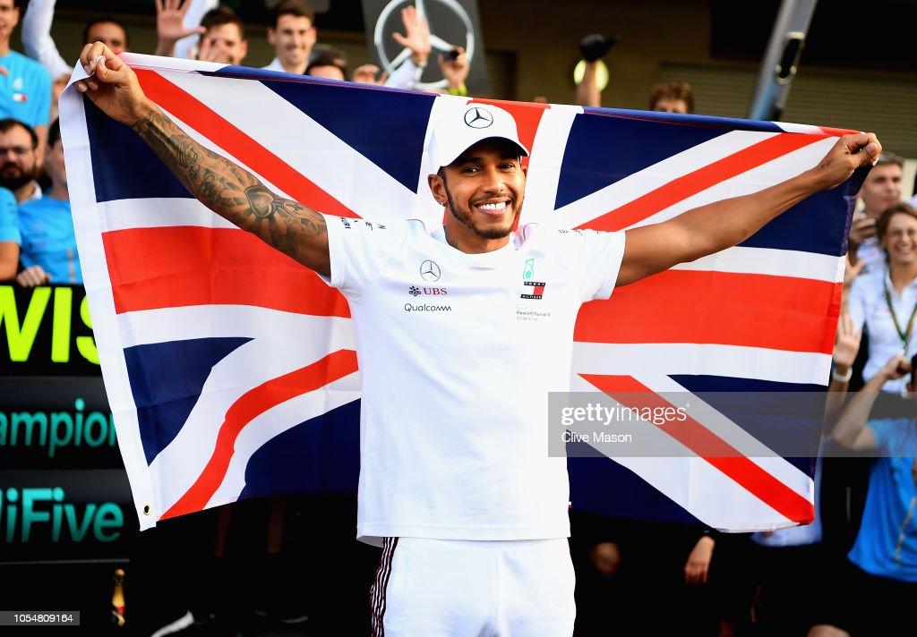 F1 Grand Prix of Mexico : Nieuwsfoto's