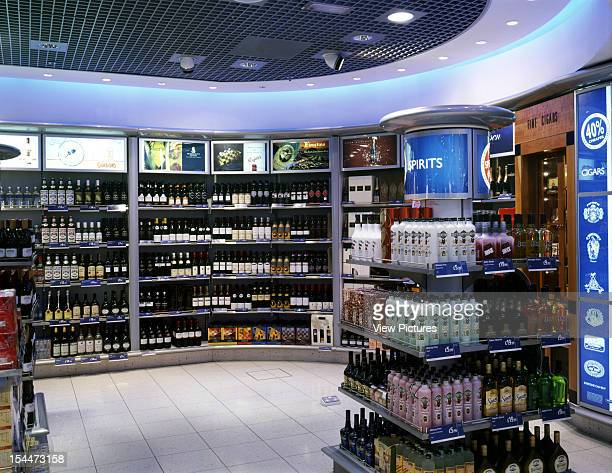 World Duty Free Shop - Stansted Airport, Stansted, United Kingdom, Architect Dalziel And Pow, World Duty Free Shop - Stansted Airport Wine And Spirit...