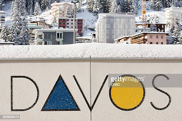 DAVOS 2016 World Economic Forum Pictured The annual World Economic Forum begins in Davos Switzerland on January 20 2016