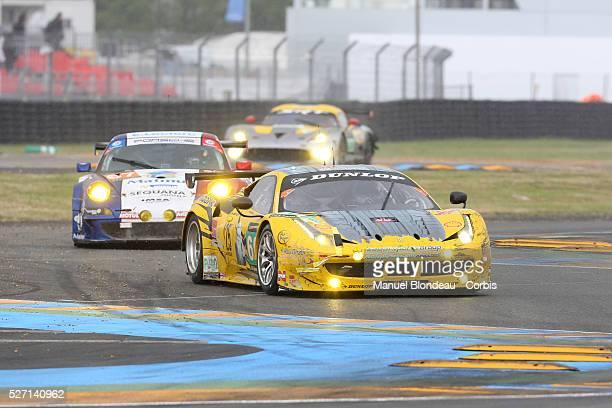World Endurance Championship 2013 - The Ferrari 458 Italia driven by Andrea Bertolini of Italy, Abdulaziz Turki Al Faisal of of Saudi Arabia and...