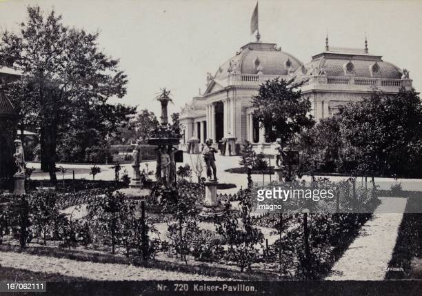 World Exhibition in Vienna 1873 EmporerPavillon 1873 Photograph by Verlag der Wiener PhotographenAssociation Wiener Weltausstellung 1873...