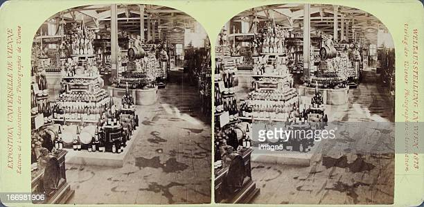 Agriculture hall Austria Publisher of the Vienna Photographers Association Stereo photograph Weltausstellung Wien 1873 Agriculturhalle Österreich...