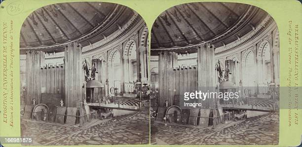 In the Rotunda Publisher of the Vienna Photographers Association Stereo photograph Weltausstellung Wien 1873 In der Rotunde Verlag der Wiener...