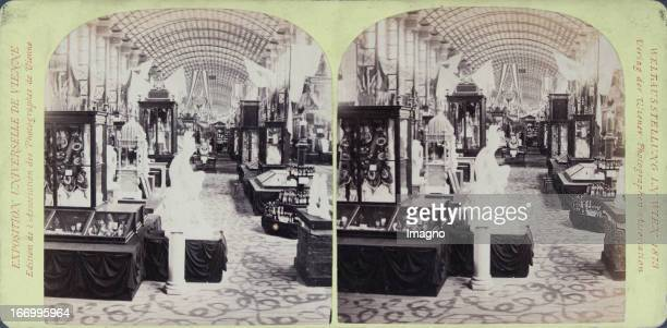 Main Gallery Greece Publisher of the Vienna Photographers Association Stereo photograph Weltausstellung Wien 1873 Hauptgalerie Griechenland Verlag...