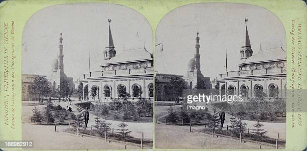 Pavilion of Russian Commission and Mosque Publisher of the Vienna Photographers Association Stereo photograph Weltausstellung Wien 1873 Pavillon der...