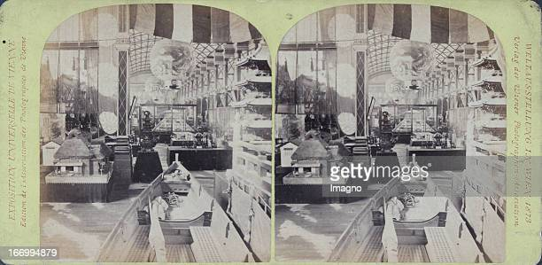 The socalled Japanese Gallery Publisher of the Vienna Photographers Association Stereo photograph Weltausstellung Wien 1873 Die sogennante...