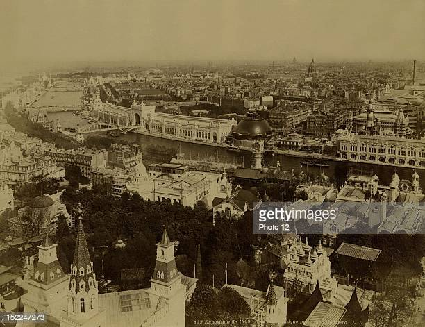 World Exhibition Paris Panoramic View taken from the Trocadero Photographer L L Print Private collection