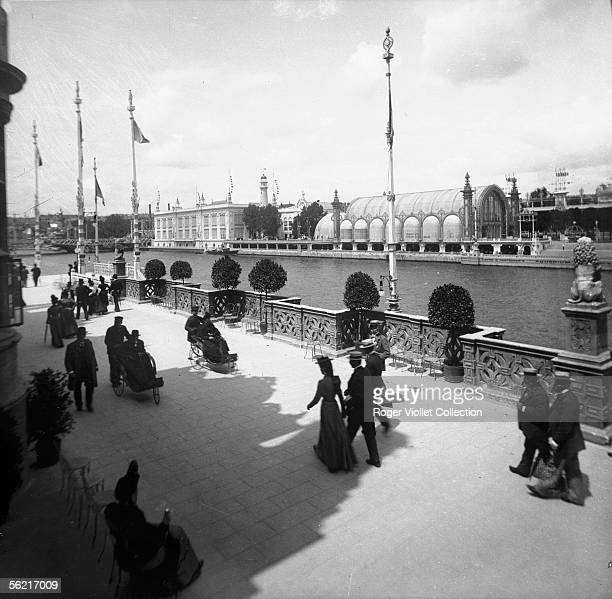 World Fair in 1900 Paris The greenhouses and the convention centre