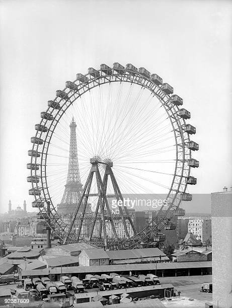 World Fair in Paris The ferris wheel