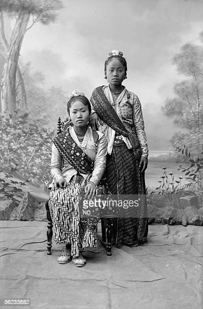 World Fair of 1889 Paris Laotians