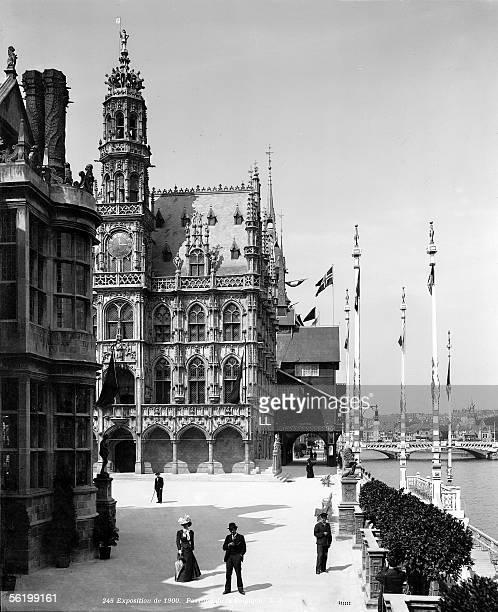 World Fair of 1900 in Paris The pavilion of Belgium