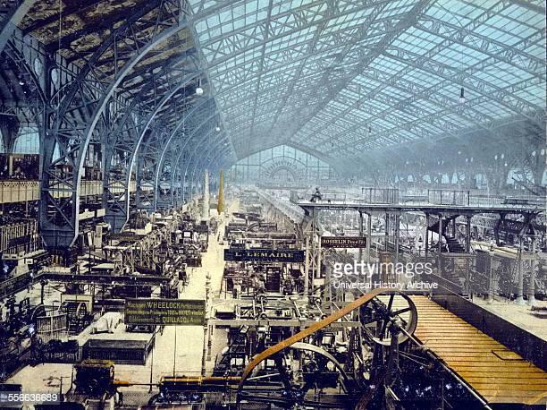 World Fair Paris 1889 Exhibition hall for advanced machines