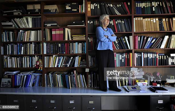 World famous astronomer Vera Rubin in her office at Carnegie Institution of Washington in Washington DC on January 14 2010