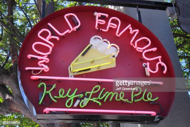 World Famous Key Lime Pie neon sign