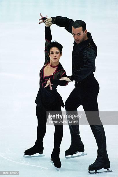 World Figure Skating Championship On March 28Th 2000 In Nice France Sarah Abitbol And Stephane Bernadis
