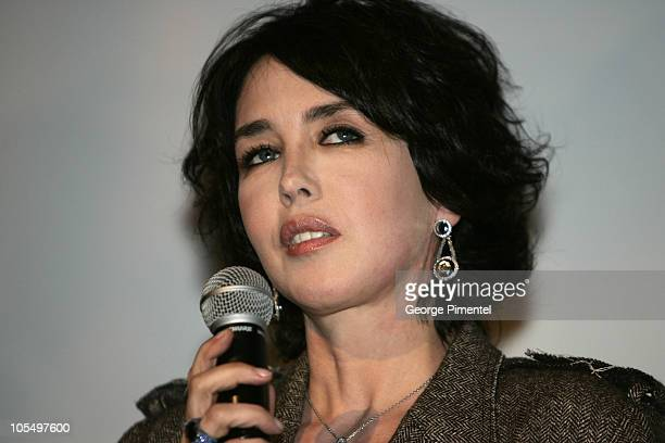 World Film Festival's President Serge Losique give tribute to Isabelle Adjani