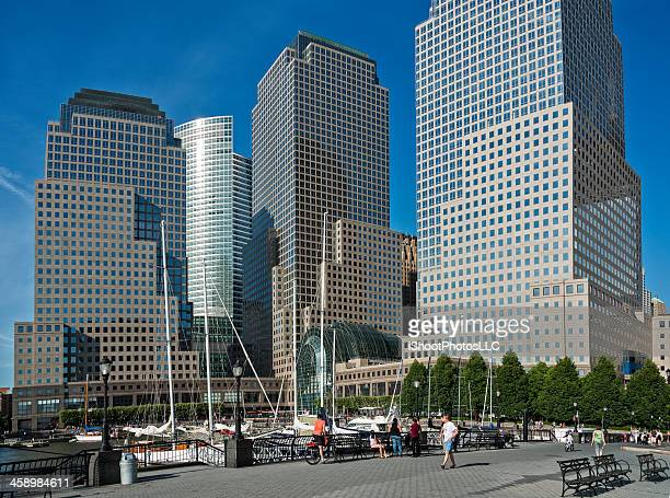 world financial center - world financial center new york city stock pictures, royalty-free photos & images