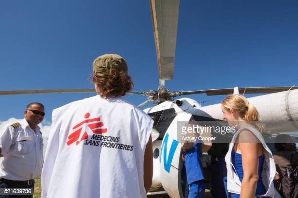 A World Food Program relief flight for victims of the devastating 2015 Malawi Floods.