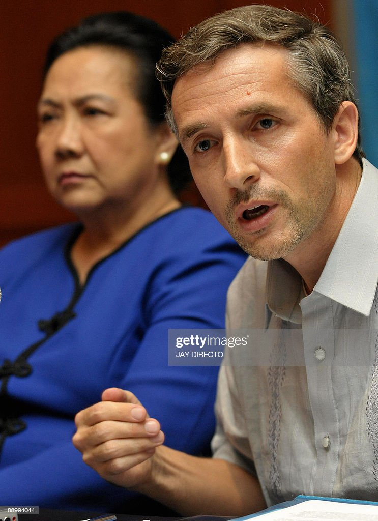 World Food Programme Country Director For The Philippines Stephen News Photo Getty Images
