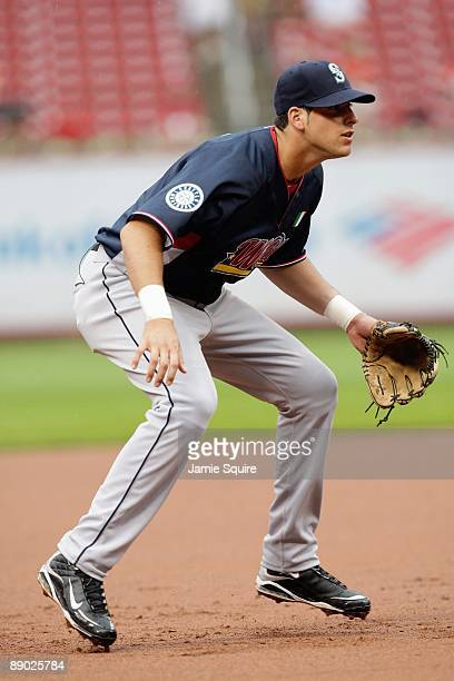 World Futures All-Star Alex Liddi of the Seattle Mariners plays third base during the 2009 XM All-Star Futures Game at Busch Stadium on July 12, 2009...