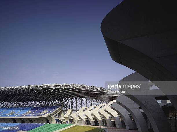 World Games StadiumKaohsiungTaiwan Architect Toyo Ito World Games 2009 Stadium Main Stands