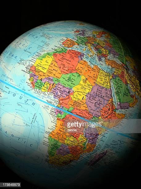 World Globe: Africa