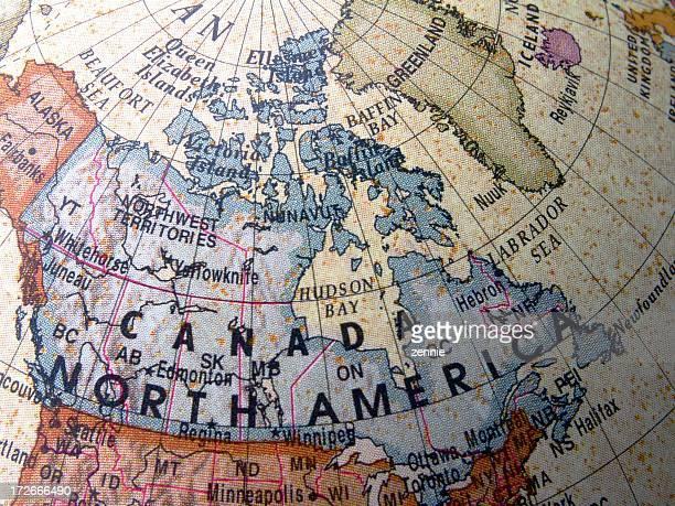 World Globe: Canada