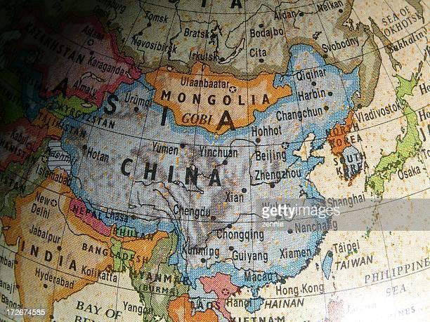 World Globe: China