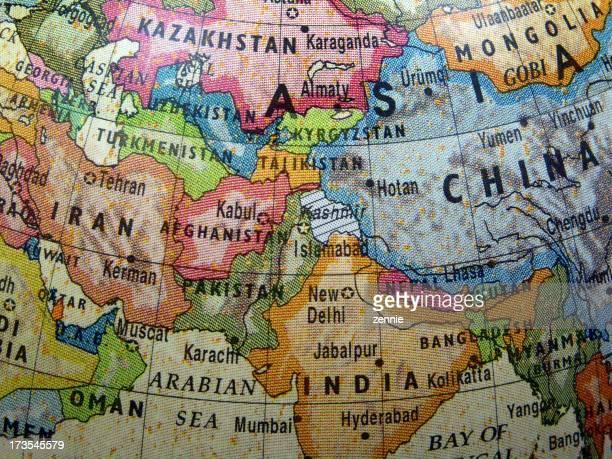 World Globe: Earthquake Zone