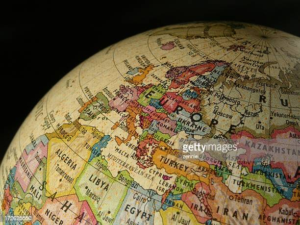 World Globe: Europe