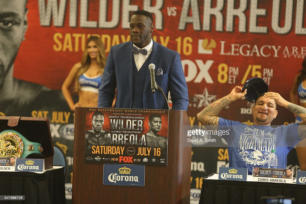 Deontay Wilder v Chris Arreola - Press Conference