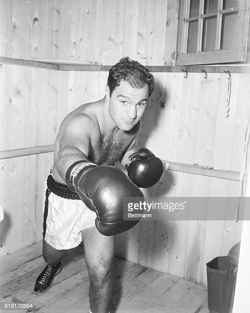 World Heavyweight Champion, Rocky Marciano revealed 3/30 that he is seriously thinking of retiring from the boxing ring. The 33-year-old champion,...