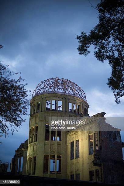 world heritage hiroshima atomic bomb dome - 太平洋戦争 ストックフォトと画像