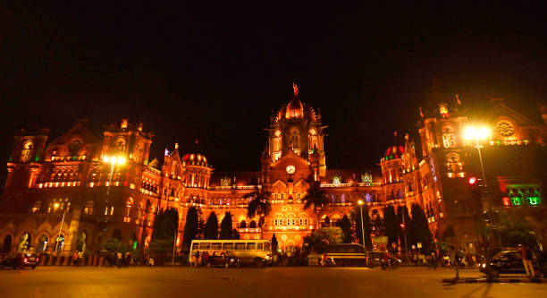 IND: CSMT And MCGM Building Light Up Golden To Raise Awareness About International Childhood Cancer