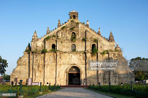 World Heritage Site The Church of Saint Augustine in Paoay Ilocos Norte is one of the best examples of Baroque Churches in the Philippines