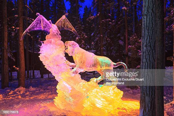 World Ice Art Championships sculpture