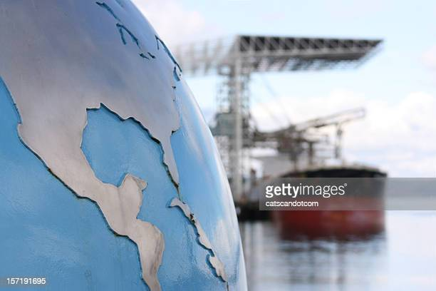World Import Export Cargo and Shipping