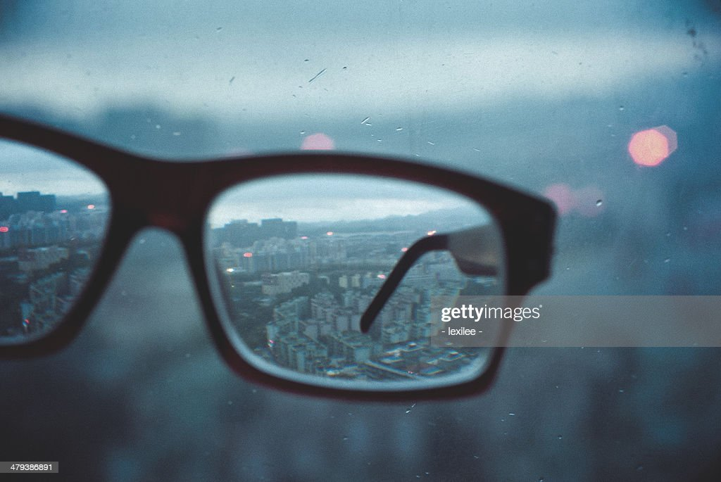 world in the glass. : Stock Photo
