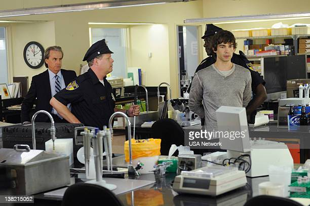 AFFAIRS World Leader Pretend Episode 210 Pictured David Andrews as Steve Barr Christopher Gorham as Auggie Anderson