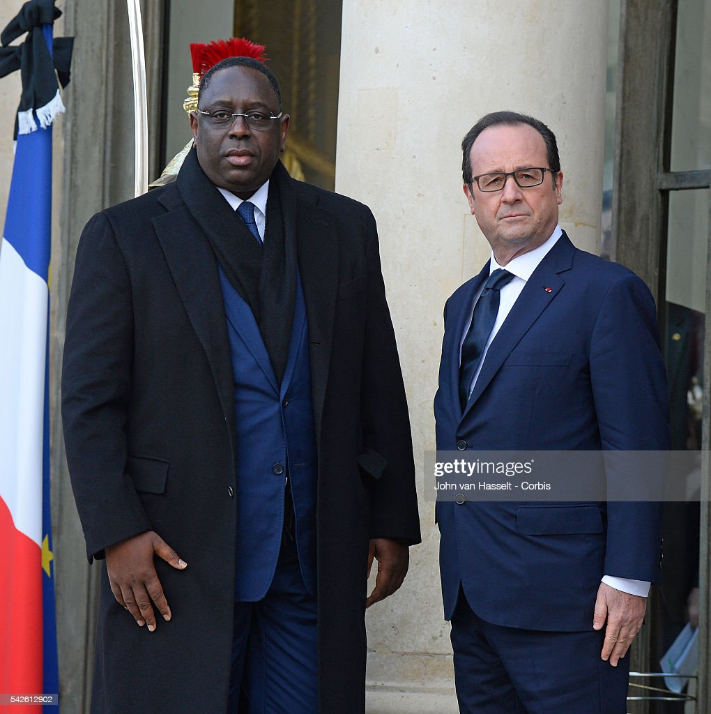 France - World Leaders met with President Francois Hollande at Elysée Palace : Foto jornalística