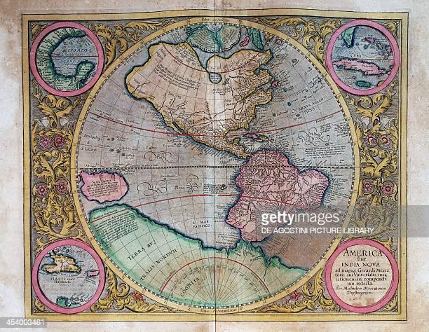 World Map by Abraham Ortelius 16th century