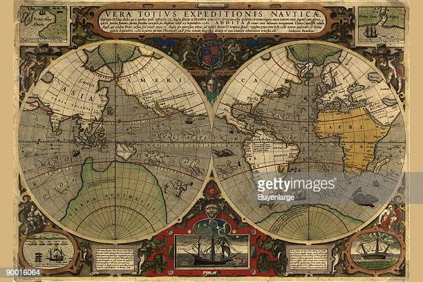 World Map from the Ortrelius Atlas