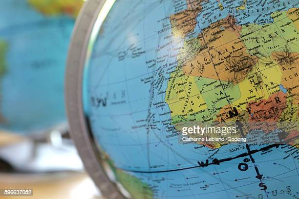 world map. - sallanches stock pictures, royalty-free photos & images