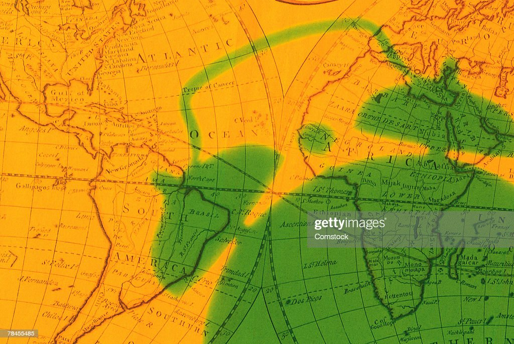 World map with shadow of alarm clock stock photo getty images world map with shadow of alarm clock stock photo gumiabroncs Image collections