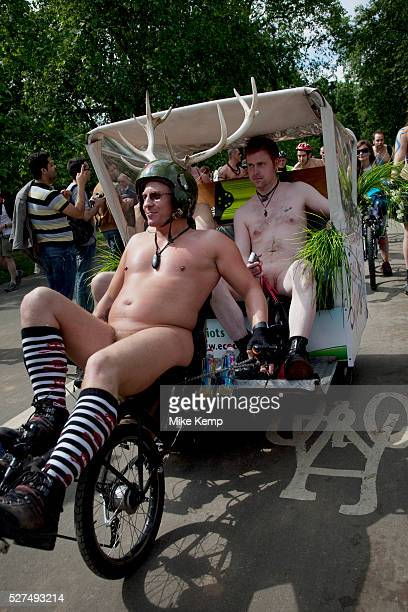World Naked Bike Ride taking place in London A peaceful imaginative and fun protest against oil dependency and car culture A celebration of the...