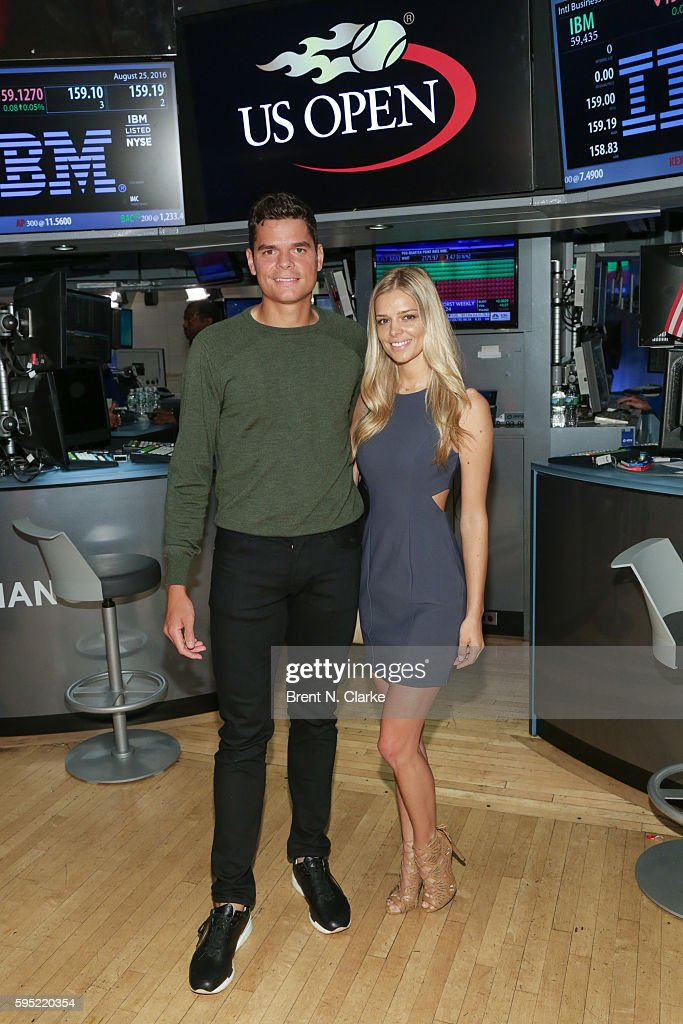 United States Tennis Association Rings NYSE Opening Bell : News Photo