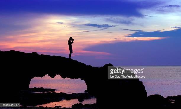world ocean day - quảng ngãi stockfoto's en -beelden