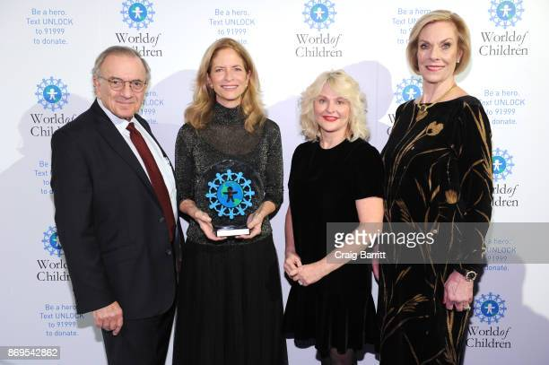 World of Children CoFounder Event CoChair Harry Leibowitz Board of Governors' Award Honoree New York Community Leader Ann O'Malley Presenter Sharen...